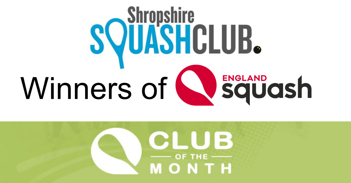 England Squash Club of the Month