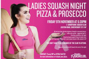 Squash Ladies Night (Prosecco!)
