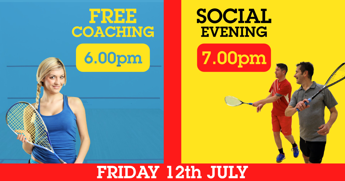 Squash Social Night 12th July - Season Finale
