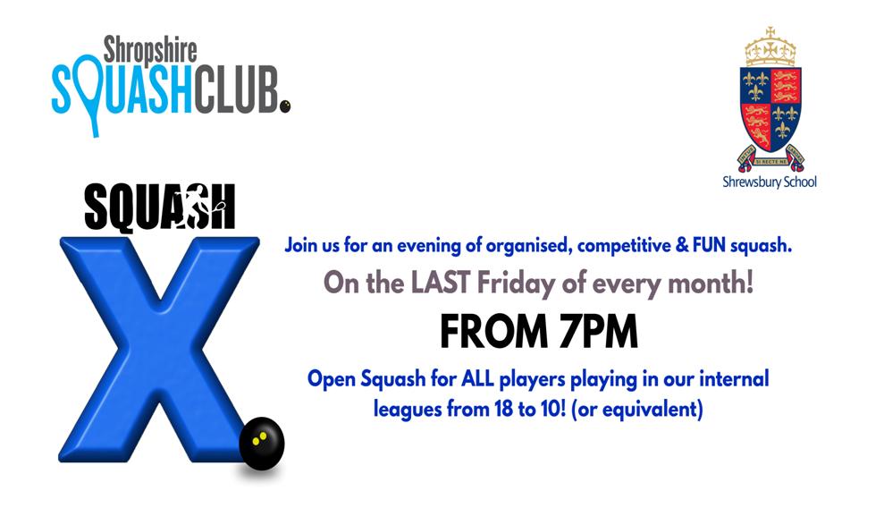 Squash X Friday 27th MARCH