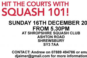 Try out squash for FREE